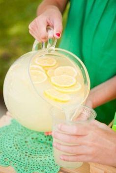 lemonade on a summer day. bliss