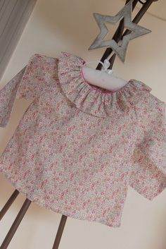 Blouse en liberty