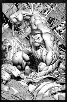 The Incredible Hulk by Dale Keown