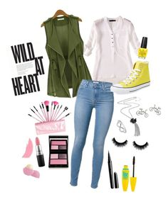"""""""Wild at Heart"""" by laura-rathbone on Polyvore featuring Eloqueen, Converse, MAC Cosmetics, Surratt, Stila, Eos, Maybelline, Marc Jacobs and Jewel Exclusive"""