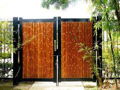 Japanese Garden Bamboo Gate by Buddha-Bellies, via Flickr