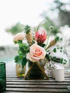 Photography: Merari Photography - www.merari.com  Read More: http://www.stylemepretty.com/2014/07/15/modern-garden-wedding-at-the-james-hotel-in-miami/