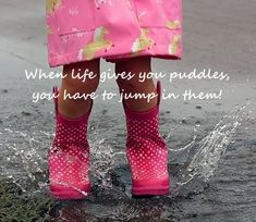 Puddles...