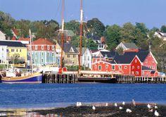 Yarmouth, Nova Scotia Took the MS Caribe in October 1979 to Nova  Scotia