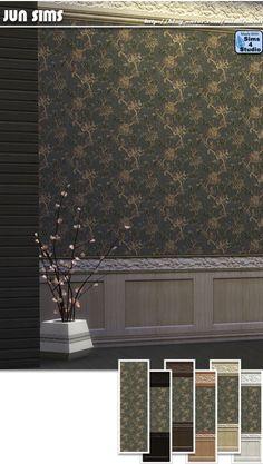 JUN Sims: Wallpaper 005 • Sims 4 Downloads Sims 4 Windows, Sims 4 Cc Furniture, Sims 4 Custom Content, Wallpaper, Jun, Outdoor Decor, Walls, Home, Wallpapers