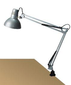 ARNO - pracovná lampa strieborná
