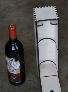 Gift box Laser Cut Box, Laser Cutting, Cnc, Big 3d Printer, Laser Art, Homemade 3d Printer, 3d Printer Projects, Wine Wall, Vodka Bottle