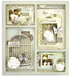 Kaiser Craft: Inspiration for wedding vow display