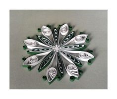 Decoration Quilling kit QD4  DIY by evascreation on Etsy