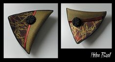 My first pieces with silk screen - Helen Breil