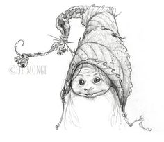 Jean-Baptiste Monge Official Website Professional Illustrator, Painter, Character Designer Publishing and Entertainment JBMonge (c) Copyright Magical Creatures, Fantasy Creatures, Fantasy Kunst, Fantasy Art, Celtic, Fairy Drawings, Kobold, Elves And Fairies, Jean Baptiste
