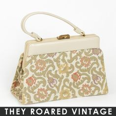 50's Tapestry Purse
