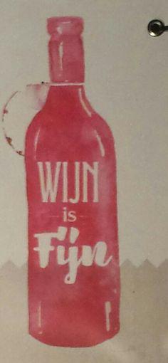 Wijn is fijn