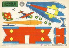 Aviones recortables - Imagui