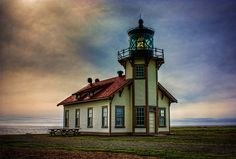 Point Cabrillo Lighthouse HDR