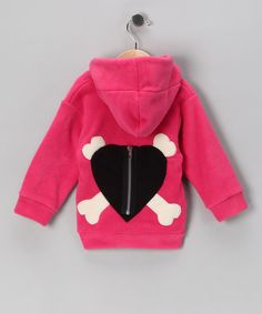 Hot Pink Zip-Up Hoodie - Infant