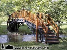 Build a graceful footbridge by Harrison Stone.  Add functional beauty to your land by designing and building your own footbridge.