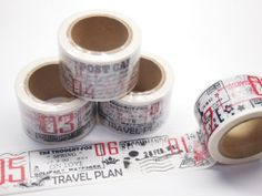Washi Tape  travel 30mm X 10M by pikwahchan on Etsy, $3.60