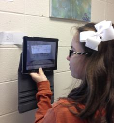 Augmented Reality: Using Aurasma Lite in the Mathematics Classroom