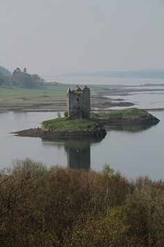 Stalker Castle, nr Oban, Scotland. I'd go there tomorrow – only a couple of hours drive – if I hadn't promised to have brunch at Danni's caff.
