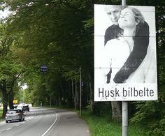 Husk bilbelte (remember your carbelt/seatbelt) - Stavanger, Rogaland (c)mh 2015