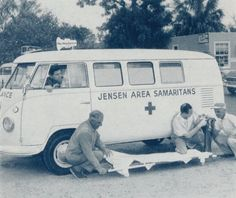 Vintage Ambulance VW B&W #volkswagen bus #vwbus | pinned by www.wfpcc.com