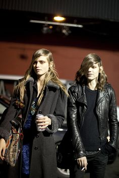 Abbey Lee Kershaw & Freja Beha Erichsen