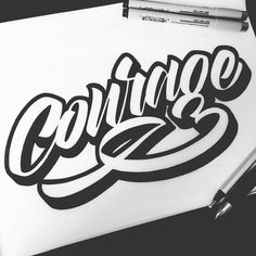 Love that 'g' Type by @tolbest | #typegang - typegang.com | typegang.com #typegang #typography
