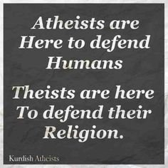 Atheist are naturally by nature up to know good