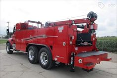 Highway Maintenance, Truck Mechanic, Rv Truck, Semi Trucks, Buses, Offroad, Vehicles, Pictures, Red