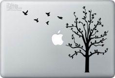 Birds Taking Flight from Tree