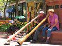 Didgeridoos on the Pearl Street