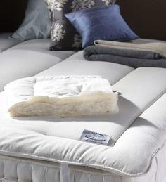 Wool Mattress Topper  #mattresses #mattresstopper