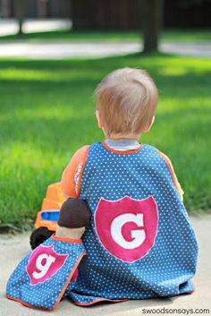 Free Superhero Toy Cape Pattern