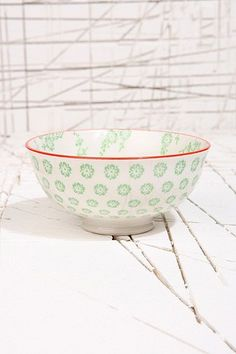 Japanese Green Blossom Bowl - Urban Outfitters