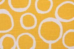 Premier Prints Freehand-Slub Drapery Fabric in Corn Yellow $8.48 per yard