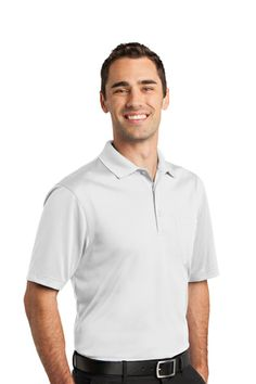Blind Squirrel Apparel Men S Performance Polo Shirt Golf