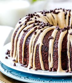 chocolate chip pound cake with cinnamon pumpkin cream cheese recipe | 18 Pound Cake Recipes That Are Too Good To Be True