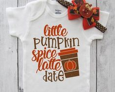 First Birthday Outfits, Monthly Onesies, Baby Quilts by noellebydesign Fabric Tutu, Thanksgiving Baby, One Piece Outfit, First Birthday Outfits, Pumpkin Spice Latte, Heat Transfer Vinyl, First Birthdays, Im Not Perfect, Onesies