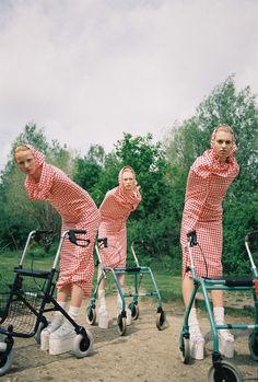 Забавное арт-фото девушек by Michael Pudelka