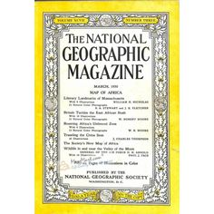 National Geographic Magazine, March 1950 | $2.98