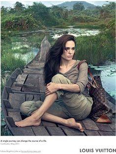 Angelina Jolie  Louis Vuitton #louisvuitton #angelinajolie