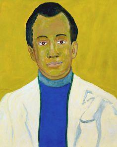 Beauford+Delaney+Portrait+of+James+Baldwin,+1971.JPG (1267×1600)