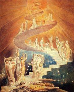 Уильям Блейк: Лестница Иакова.