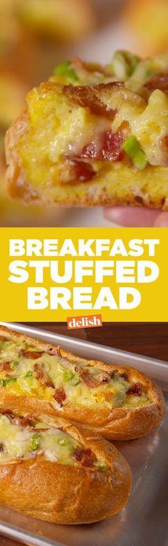 Breakfast Stuffed Bread