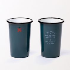 Seamless & Steadfast Tall Enamel Tumblers  (Set of Two) Either colour is good. LOVE THESE