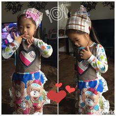 Sew: scrap apron for my little princess