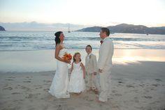 beach wedding dress. Renew vows someday?