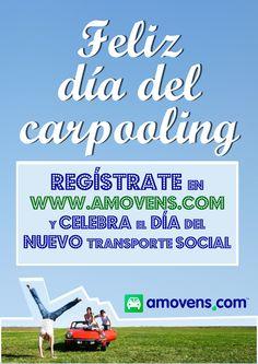 26 de octubre. Día Internacional del Carpooling. Compartir coche con Amovens.