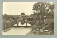 Bridge north of Gladbrook, Iowa (NE of Marshalltown)